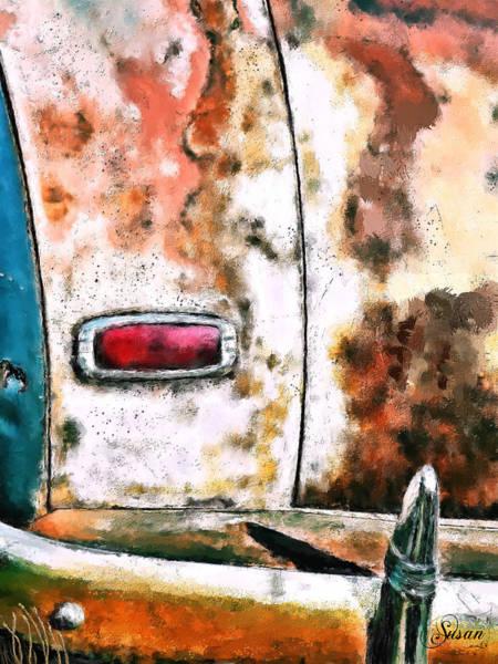 Digital Art - What Rust? by Susan Kinney