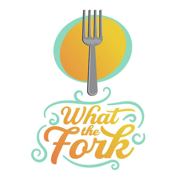 Kitchen Utensil Digital Art - What The Fork by Krista Hill