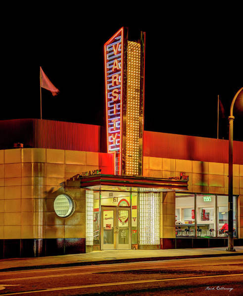 Photograph - What Will You Have The World Famous Varsity Atlanta Georgia Landmark Art by Reid Callaway