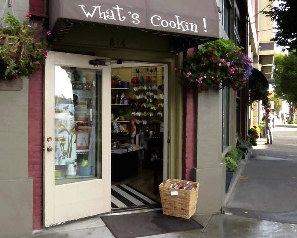 Port Townsend Digital Art - What's Cooking by I'ina Van Lawick