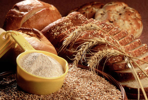 Healthy Eating Photograph - Wheat And Wheat Products by Carol And Mike Werner