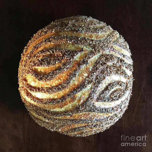 Photograph - Wheat Bran Wood Grain Sourdough 3 by Amy E Fraser