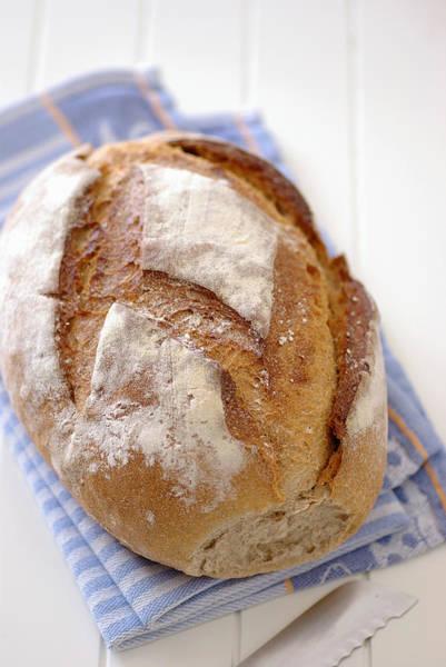 German Food Photograph - Wheat Bread by Photo By Thorsten Kraska