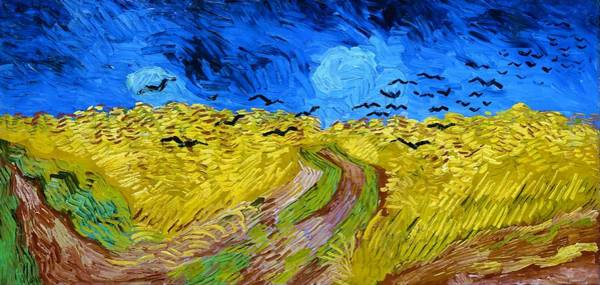 Wall Art - Painting - Wheatfield With Crows - Digital Remastered Edition by Vincent van Gogh
