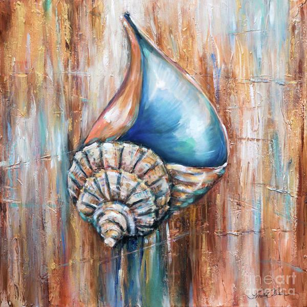 Painting - Whelk Fossil by Linda Olsen