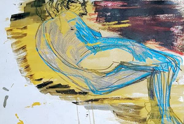 Mixed Media - When It Is A Posturing Pose by Siobhan Dempsey