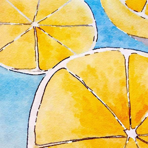Painting - When Life Gives You Lemons by Monica Martin