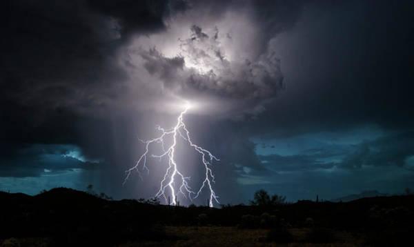 Wall Art - Photograph - When Lightning Strikes  by Saija Lehtonen