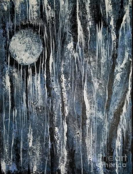 Painting - When Night Comes by Hilda Lechuga