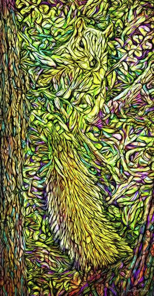Digital Art - When Squirrels Daydream by Joel Bruce Wallach