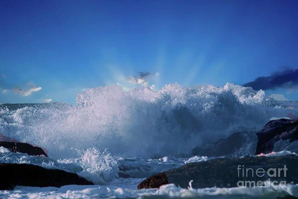 Wall Art - Photograph - When The Moment Hits You Like A Wave by Jeff Swan