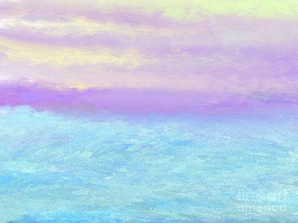 Wall Art - Photograph - When Ocean Meets The Sky by Elaine Manley