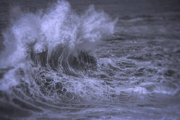 Photograph - When Waves Collide by Bill Posner