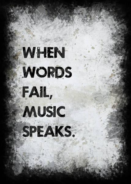 Wall Art - Photograph - When Words Fail by Ricky Barnard