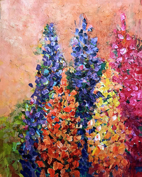 Painting - Where Are My Lupins by Jo-Anne Gazo-McKim