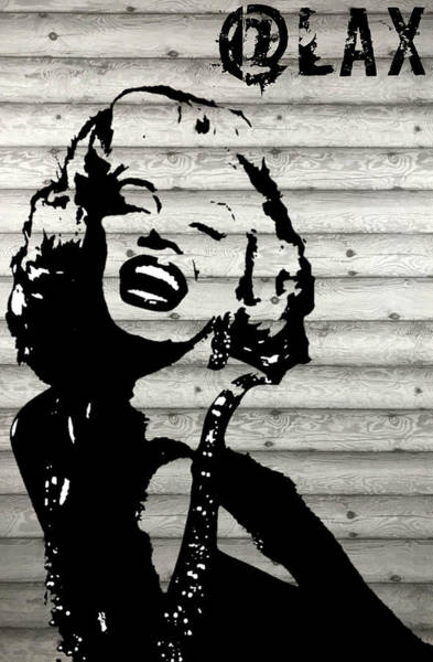 Mixed Media - Where Is Marilyn by MB Dallocchio