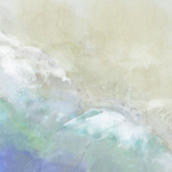 Digital Art - Where Sea Meets Shore by Gina Harrison
