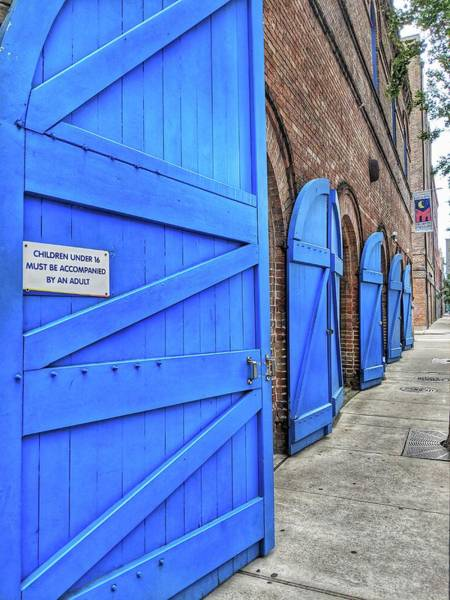 Photograph - Which Blue Door by Portia Olaughlin