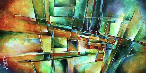 Wall Art - Painting - Which Way by Michael Lang