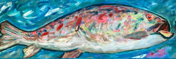 Wall Art - Painting - Whimsical Fish by Ann Lutz