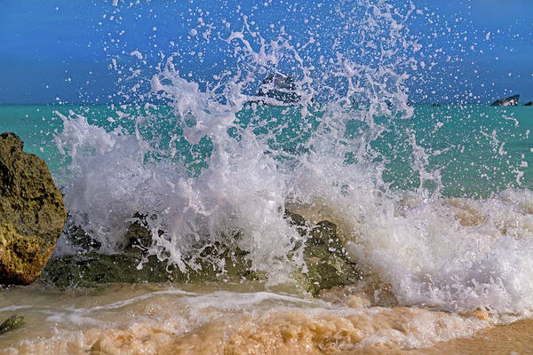 Wall Art - Photograph - Whimsical Paradise Splash  by Betsy Knapp