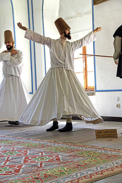 Photograph - Whirling Dervish  At Mevlana Shrine by Steve Estvanik