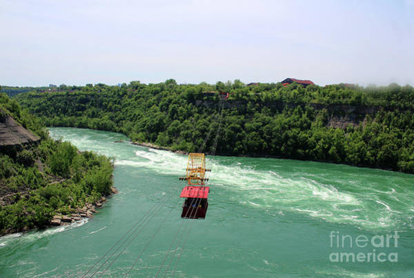 Photograph - Whirlpool Aero Car Over The Gorge by Doc Braham