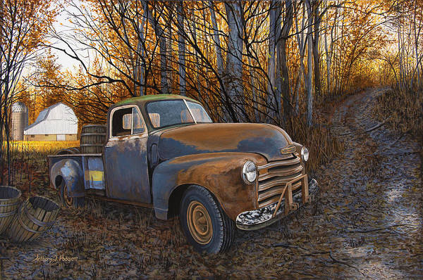 Painting - Whiskey Run by Anthony J Padgett