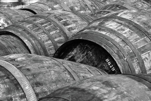 Alcohol Photograph - Whisky Barrels by (c)andrew Hounslea