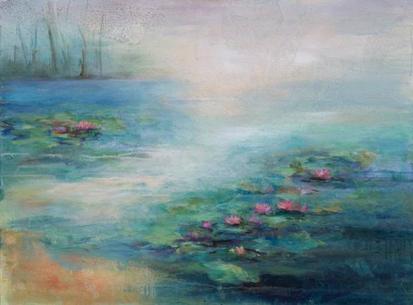 Wall Art - Painting - Whispered Thoughts by Karen Hale