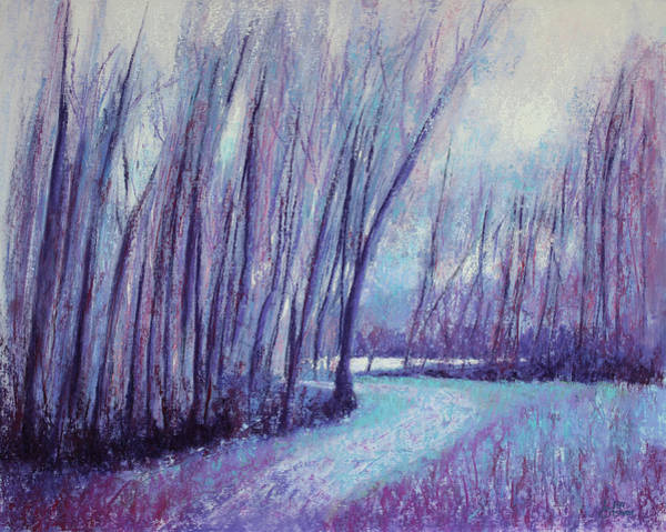 Painting - Whispering Woods by Lisa Crisman