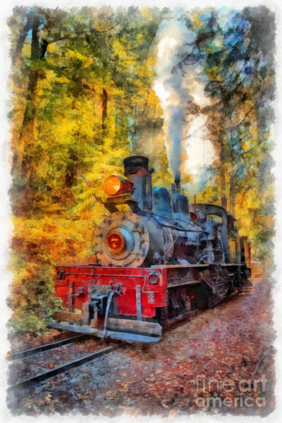 Wall Art - Digital Art - Whistle Through The Forest by Edward Fielding