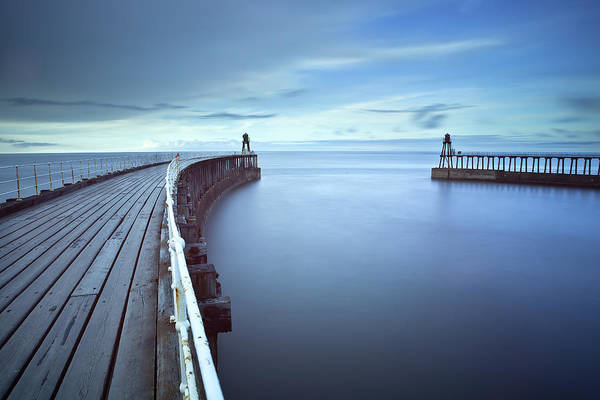 Harbor Photograph - Whitby Harbour by Getty Images