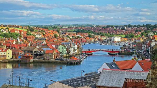 Photograph - Whitby Harbour, Yorkshire by Martyn Arnold