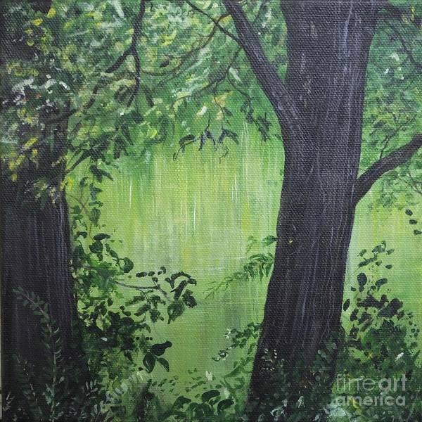 Painting - Whitby Woods by Lizi Beard-Ward