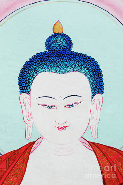 Wall Art - Photograph - White Buddha by Tim Gainey