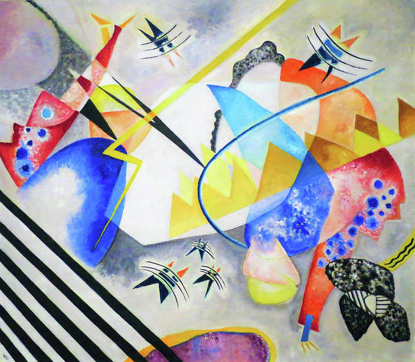 Wall Art - Painting - White Center - Digital Remastered Edition by Wassily Kandinsky