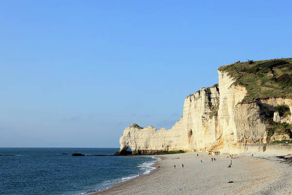 Natural Arch Photograph - White Cliffs And Natural Arches At by Gaps