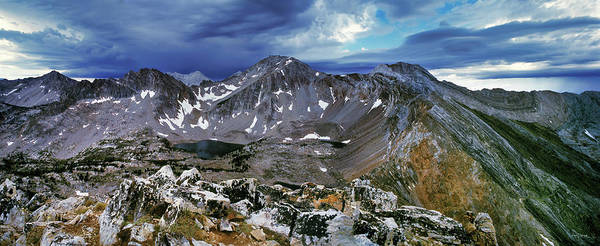 Photograph - White Cloud Mountains by Leland D Howard