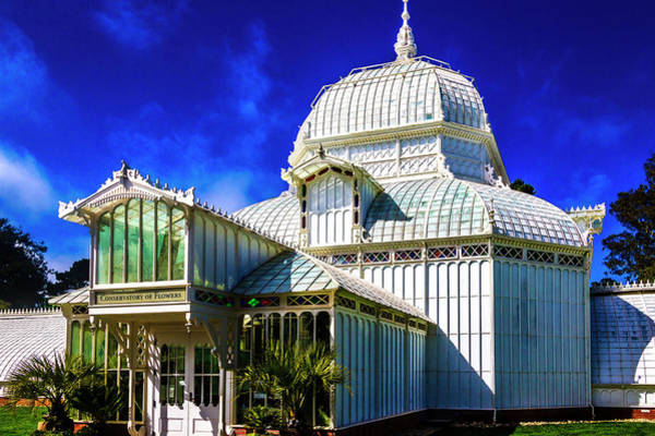 Wall Art - Photograph - White Conservatory Of Flowers by Garry Gay