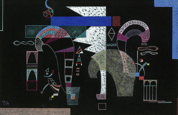 Wall Art - Painting - White Form - La Forme Blanche  by Wassily Kandinsky