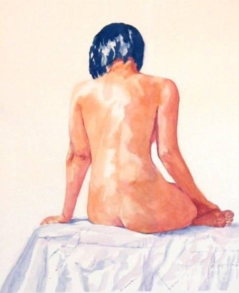Painting - White Lotus by Lorraine Germaine