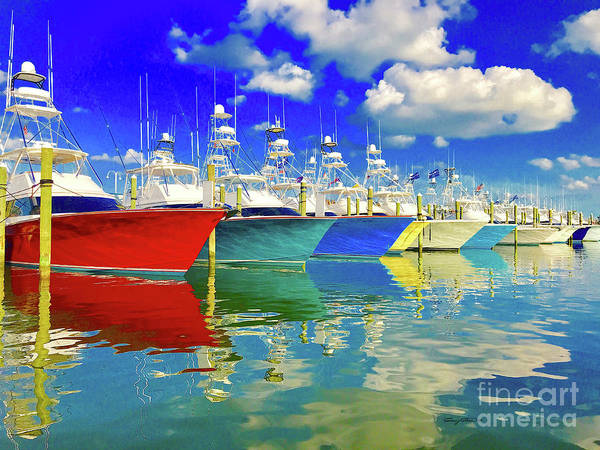 Wall Art - Photograph - White Marlin Open 2018 by Carey Chen