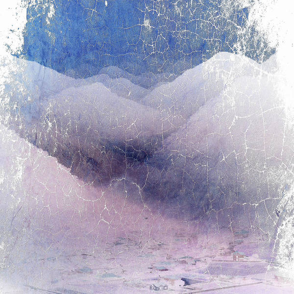 Digital Art - White Mountains Abstract by Robert G Kernodle
