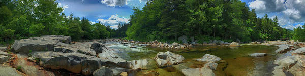 Photograph - White Mountains New Hampshire - Rocky Gorge by Joann Vitali