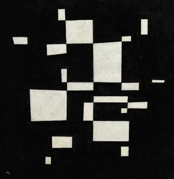 Wall Art - Painting - White On Black, 1930 by Wassily Kandinsky