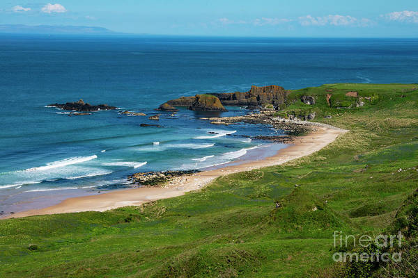 Photograph - White Park Bay Beach Two by Bob Phillips