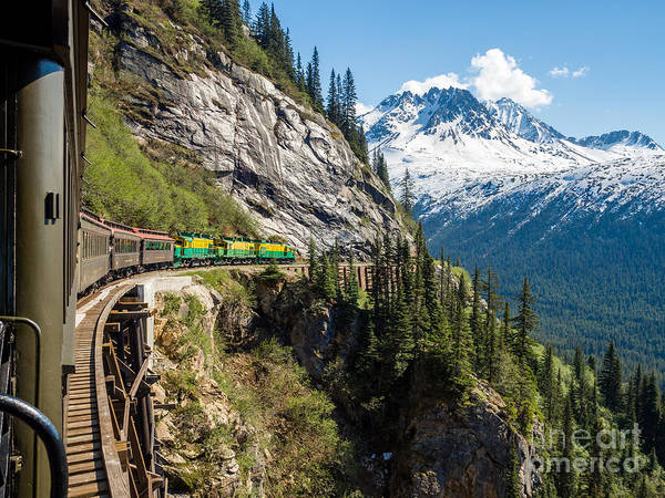 Wall Art - Photograph - White Pass Train  Alaska by Gary Rolband