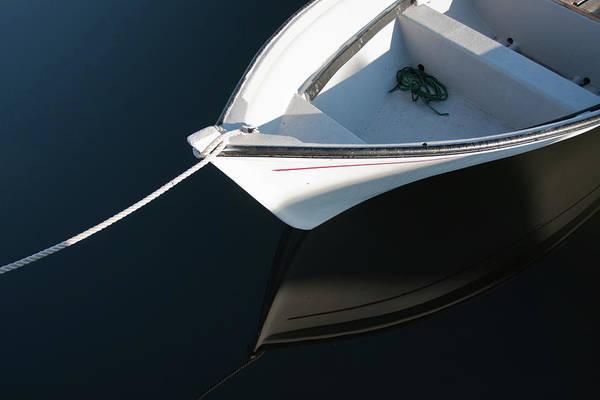Photograph - White Rowboat by Tatiana Travelways