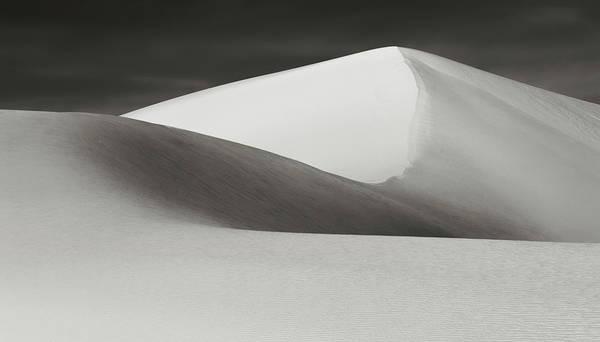Photograph - White Sands Dune Peak by Robert Woodward